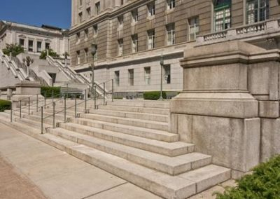 Pennsylvania's Capitol Building | Capitol Preservation Committee Reconstruction of South East Balustrade